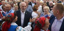 Antoni Macierewicz zaskoczył wszystkich. Tak się bawił na pikniku!