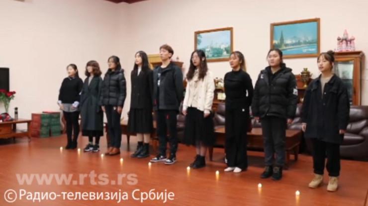 Kineski studenti srpskog jezika