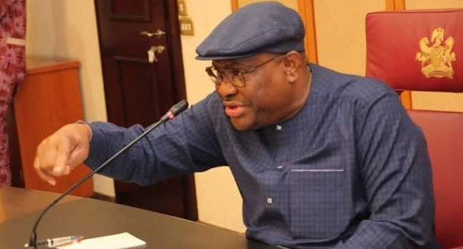 Wike calls out party members (Channels)