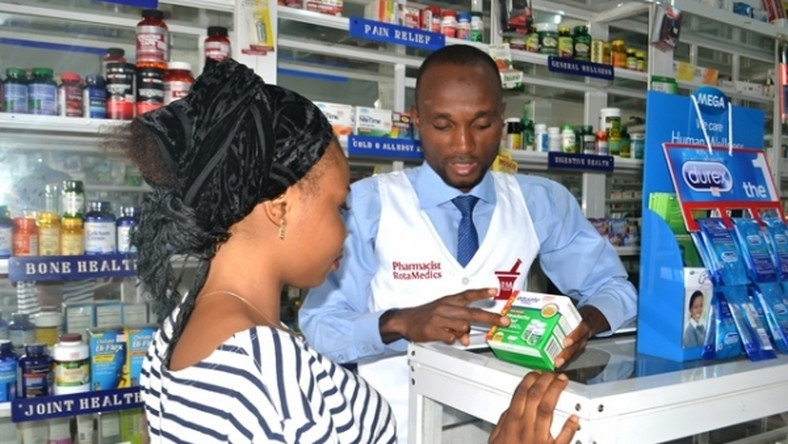 Lagosians are going all out for chloroquine. Photo for illustrative purposes only. (Nigerian Business Directory)