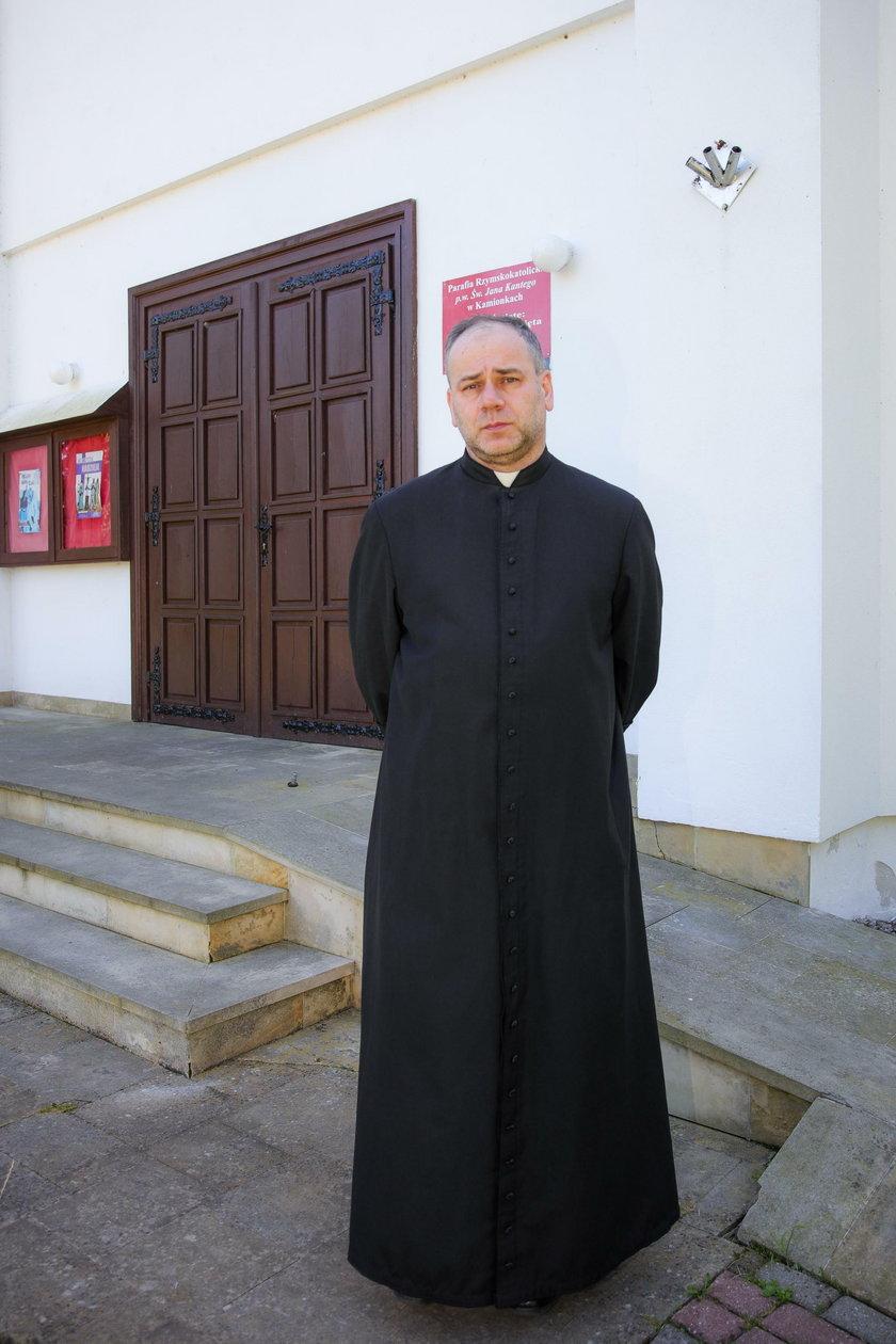 Proboszcz parafii w Kamionkach