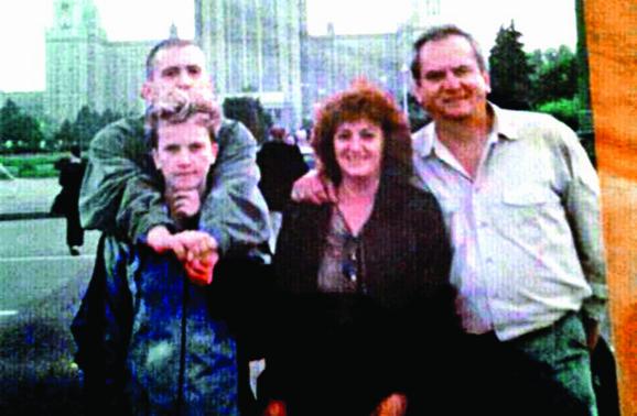 Iz porodičnog albuma: Nebojša, Marina, Božidar i Gordana
