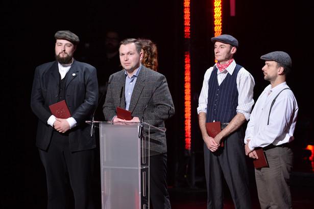 Laureat w kategorii muzyka popularna - krakowska formacji Hańba!