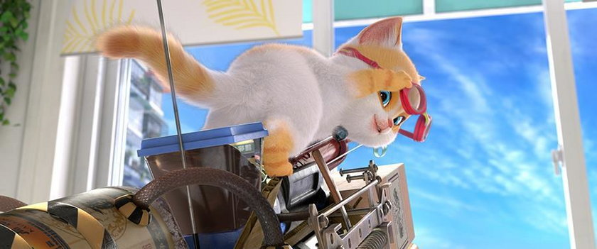 """Kadr z nowej bajki """"Sekretny świat kotów"""""""
