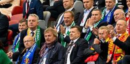 Mecz o Puchar Polski. Oni pojawili się na trybunach