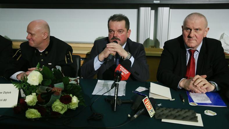 Szczepan Kasiński, Sławomir Izdebski oraz Jan Guz