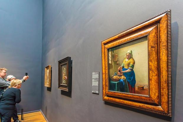 """Mleczarka"" Vermeera w Rijksmuseum"