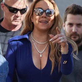 Mariah Carey znów zaświeciła biustem. Czy to nie przesada?