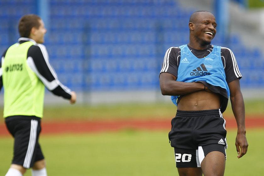 Christopher Oualembo coraz lepiej czuje się w naszym kraju
