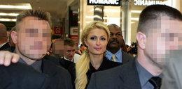 Policjanci ochraniali Paris Hilton, zostaną zwolnieni