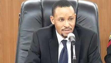 Chairman, Code of Conduct Tribunal, Justice Danladi Umar.