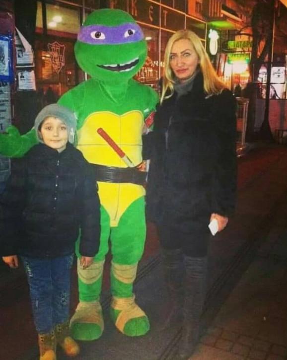Luka sa mamom Draganom