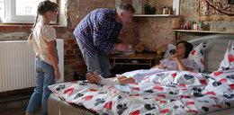 """""""Pierwsza miłość"""". Po wypadku Wanda straci pamięć. Wyląduje w łóżku... Kulasa!"""