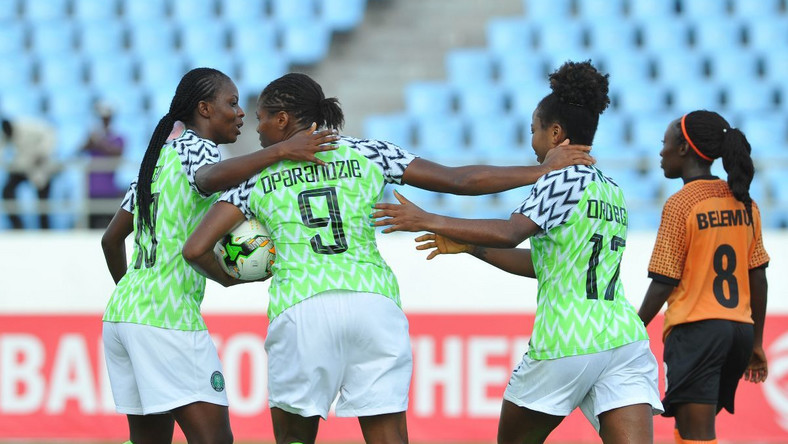 Asisat Oshoala, Desire Oparanozie and Francisca Ordega are in Super Falcons 27-woman squad for Super Falcons final camping ahead of FIFA Women's World Cup
