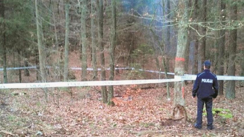 Ciało Kamili znaleziono w lesie koło Kartuz
