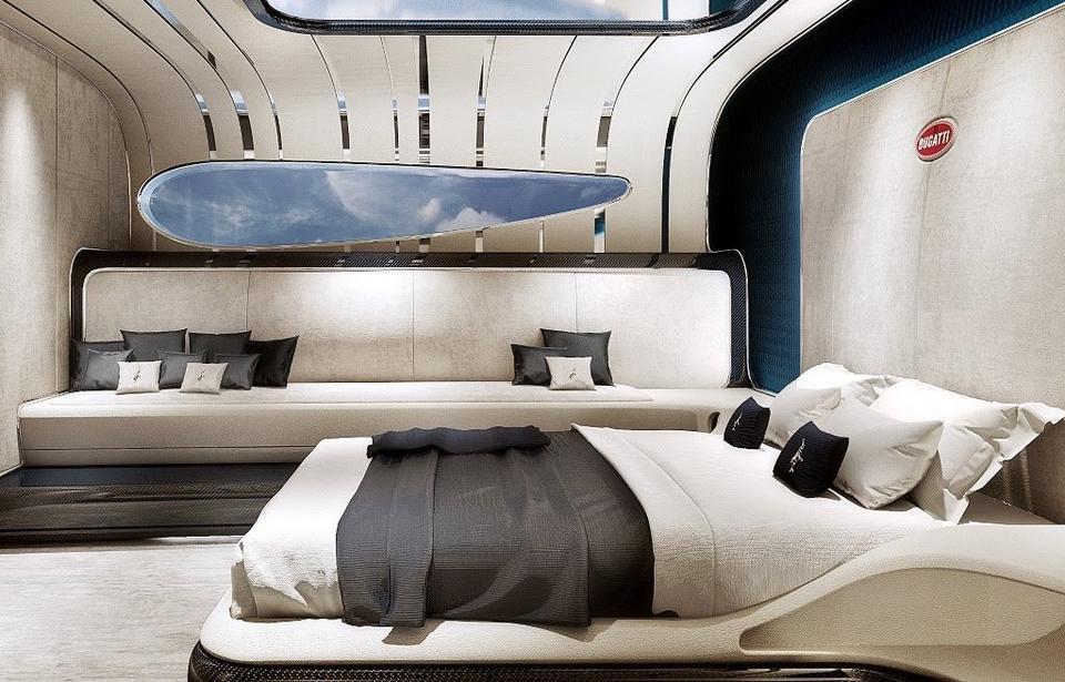 Więcej osób spać może też na ogromnych kanapach.