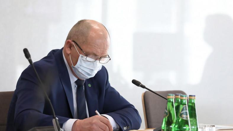 Poseł PSL Marek Sawicki