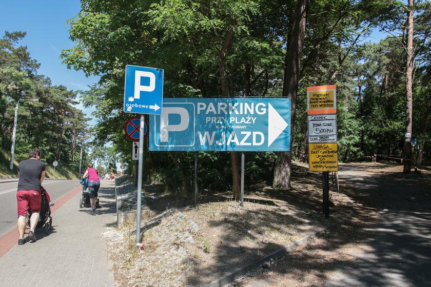 Parking w Kątach Rybackich