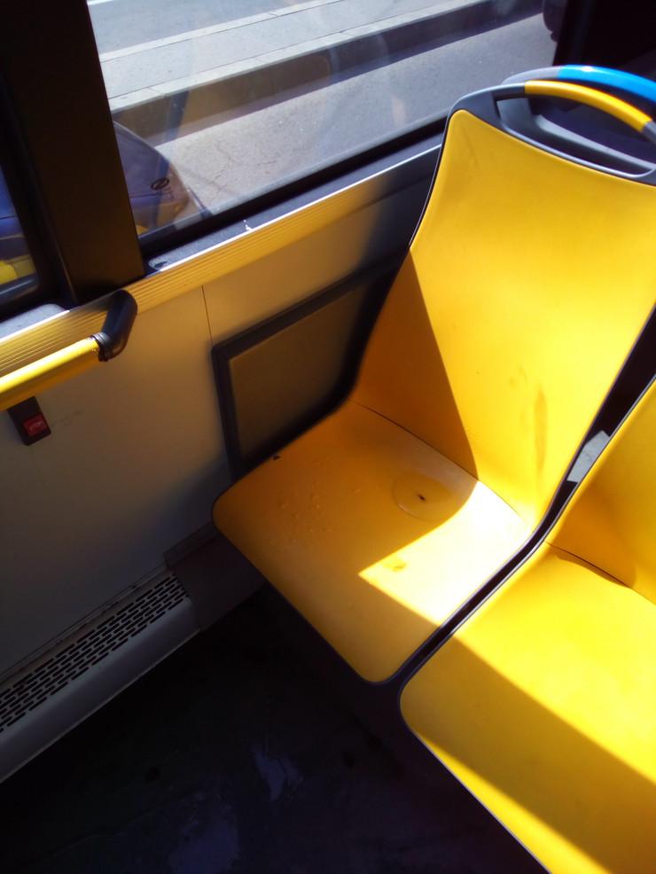 Mokra sedišta u gradskom prevozu