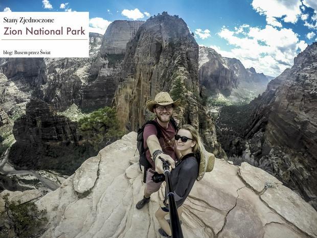 Karol Lewandowski przekonuje, że to, co najpiękniejsze w Stanach, to parki narodowe, fot. www.busemprzezswiat.pl
