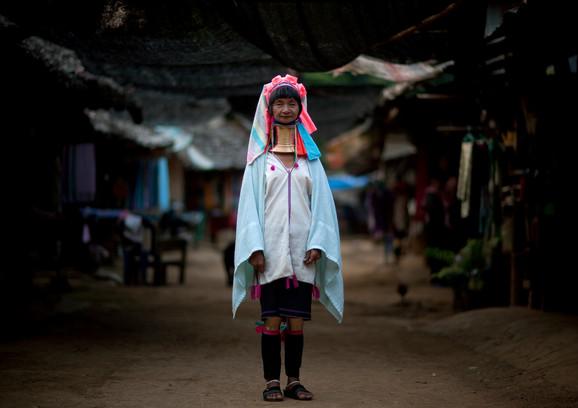 Pripadnica plemena Kajen