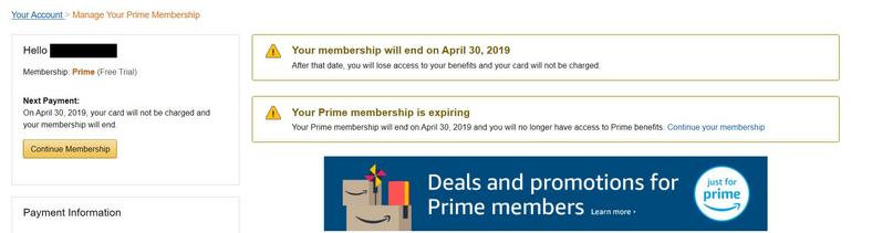 Amazon Prime After Cancellation