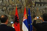 srbija albanija zastave foto o bunic