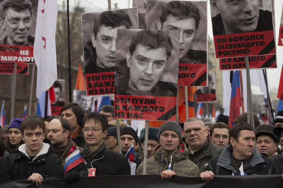 Revolt Moskovljana posle ubistva Borisa Njemcova