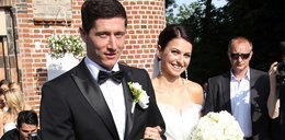 Lewy wziął ślub w garniturze polskiej marki