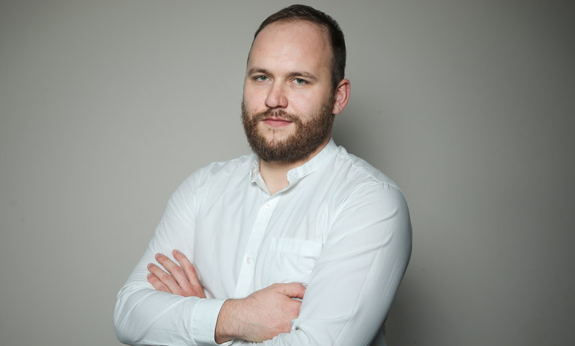 Tomasz Kozłowski, szef działu politycznego dziennika Fakt