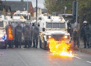 Duch kłopotów nad Irlandią Północną