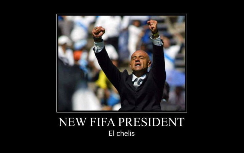 """""""Łysy z UEFA"""" został sternikiem FIFA. MEMY"""