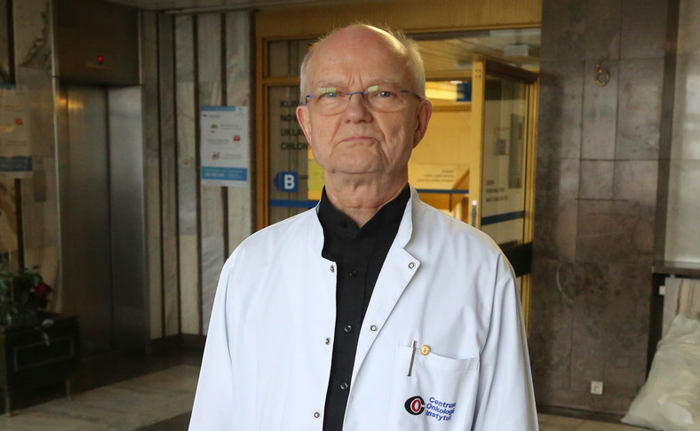Doktor Janusz Meder, prezes Polskiej Unii Onkologii