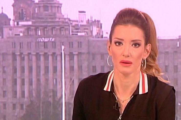 Jovana Joksimović se rasplakala u programu kad je čula da je Dea Đurđević povređena
