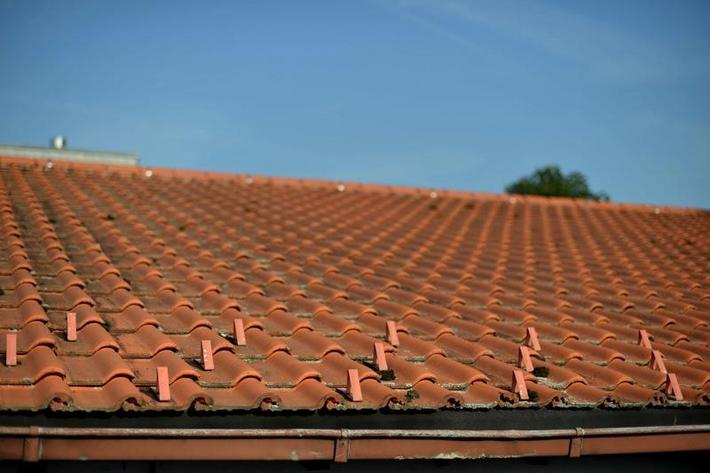 Roofing tile in Germany