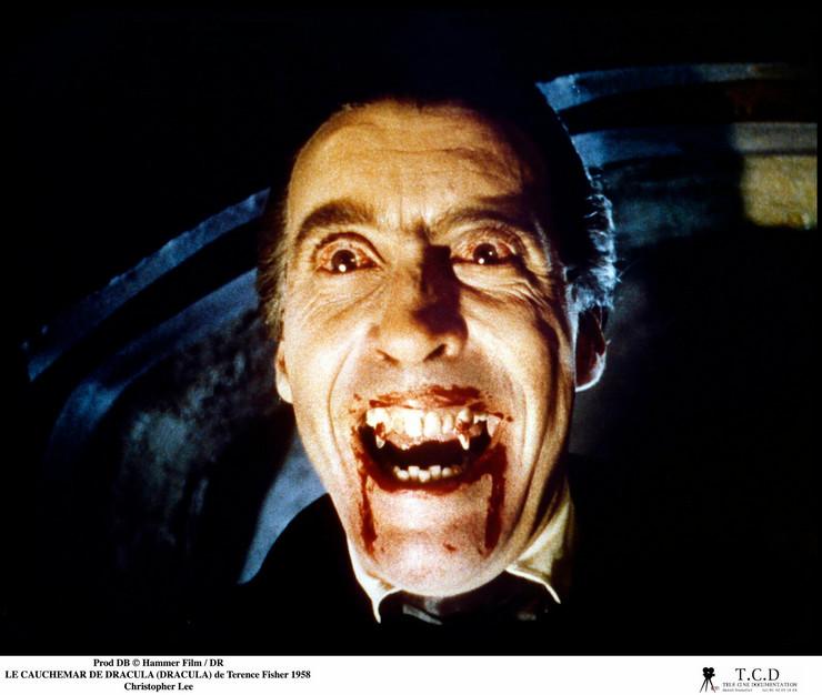Kristofer Li kao Grof Drakula