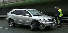 Malajkat rozbił auto!