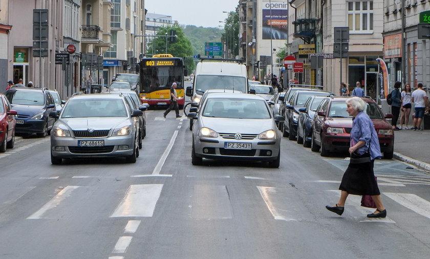 Poznań nie jest dla kierowców