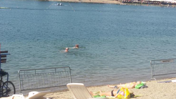 Ada Ciganlija kupanje