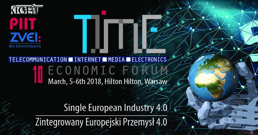 5-6 marca odbędzie się 10. Forum Gospodarcze TIME