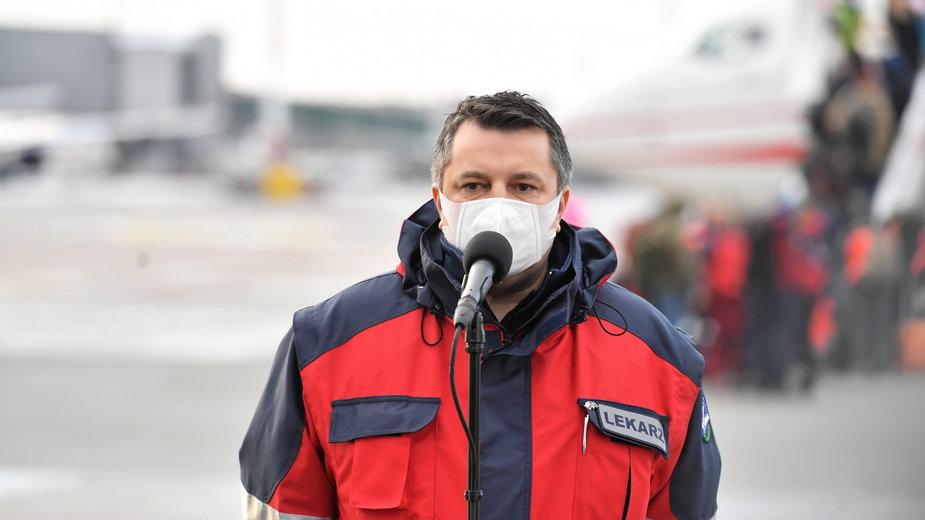 dr Artur Zaczyński, dyrektor Szpitala Narodowego