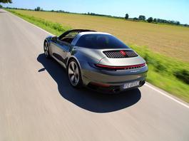 Porsche 911 Targa 4S – styl przewiewny
