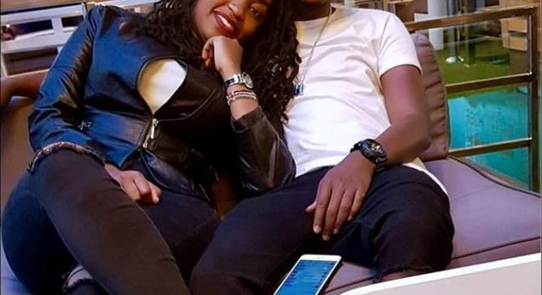 Hopekid unveils new bae months after the STI and threesome scandal and Kenyans can't keep calm