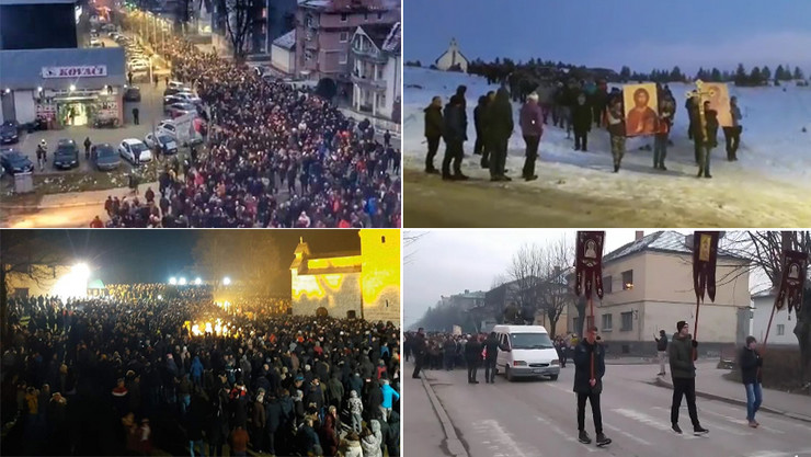 KOLAZ Crna Gora litija foto Facebook Objectiv story