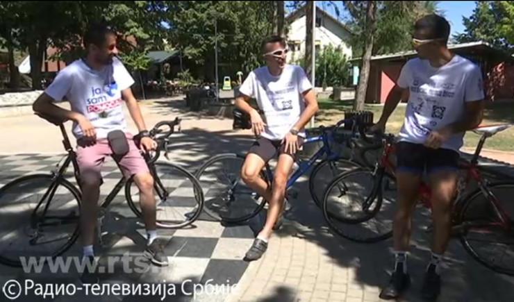 valjevo, voze bicikl u humanitarne svrhe