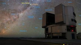 ESO - nowoczesny teleskop poszuka obcych cywilizacji