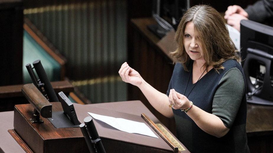 Joanna Lichocka. Posłanka PiS ponownie wiceprzewodniczącą Komisji Kultury i Środków Przekazu