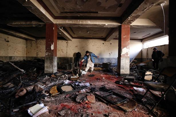 Miejsce zamachu w Kabulu