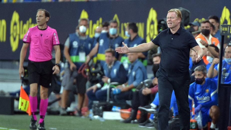 Trener Barcelony Ronald Koeman