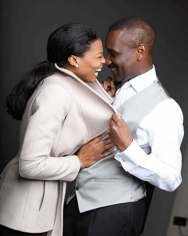 Pastor Ituah Ighodalo and Ibidun Ighodalo were married for 13 ears before her death (Instagram/Ibidun Ighodalo)